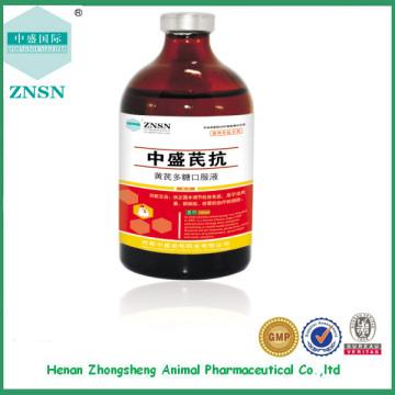 Chinesische traditionelle Medizin Huangqiduotang mündliche Flüssigkeit antiviral