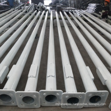 Chinese professional factory 6m street lighting steel pole with cheap price