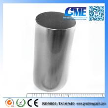 Hochwertiger NdFeB D25.4X50.8mm Permanenter zylindrischer Magnet