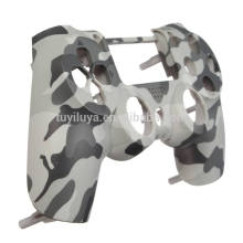 Replacement Matte Camouflage Skin Case Capa frontal para PS4 Controller Case Shell Protector Cover para PlayStation 4 Controller