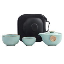 2020 trading custom eva travel tea cup set case,tea bag case,custom tea set