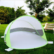 White Recreational Camping Tents, Breathable Anti-Mosquito Contracted Tents