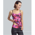 Lady Clothing Benutzerdefinierte Digitaldruck Stringer Yoga Tank Top