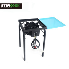 Pressure gas cooker suitable outdoor camp stove with cover