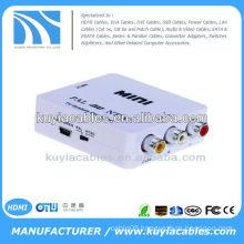 MINI TV System AV PAL To NTSC / NTSC TO PAL Converter Box