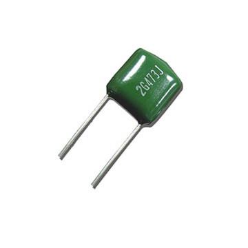 Topmay Gelb Farbe 104k100V Mylar Kondensator Cl11