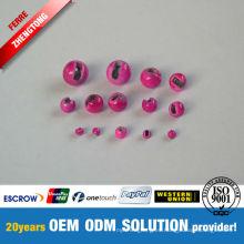 Perlas ranuradas del tungsteno de los colores al por mayor diferentes