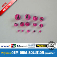 Wholesale Different Colors Tungsten Slotted Beads