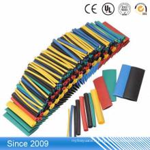 2: 1 coloré manchon thermorétractable de PE pour l'enveloppe de tube de marqueur de câble de tuyau