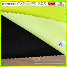 Tissu en coton polyester élastique haute visibilité