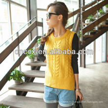12STC0640 вязаный женские вязаные зимние бака пуловер свитер