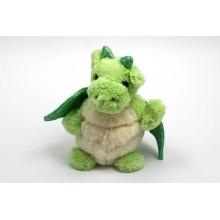 ¡Diseño modificado para requisitos particulares del OEM! Juguete suave de la felpa del dragón del color verde para la venta