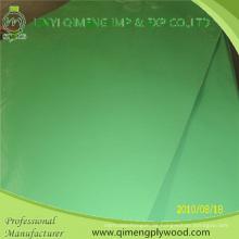 4'x8 '1.6mm 2.2mm 2.6mm grünes Polyester-Sperrholz für Indonesien-Markt