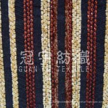 Streifen Chenille Polyester und Acrylgewebe für die Inneneinrichtung