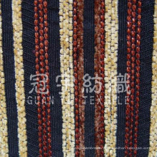 Strip Chenille Polyester and Acrylic Fabric for Home Decoration