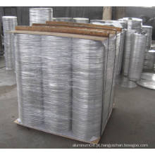 Folha redonda de alumínio
