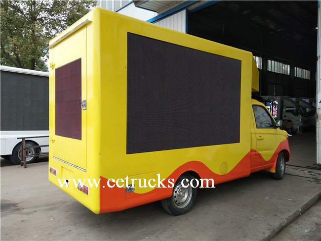 P5 LED Mobile Advertising Trucks