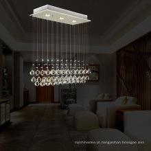 3 Luzes de Cristal Corredor Mini Lâmpada de Suspensão LED Decorativo Decorativo