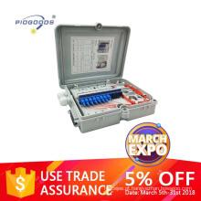 FTTH0212A mini 12 cores outdoor waterproof inline PC Optical Fiber Demarcation box