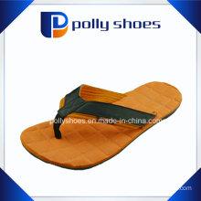 New Men′s Prints Orange Grey Flip Flop Sandals