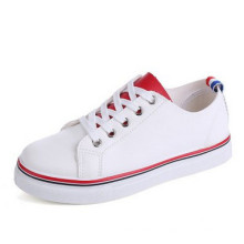 2016 New Style Flat Girl′s Shoes with Lace up (NF-3)