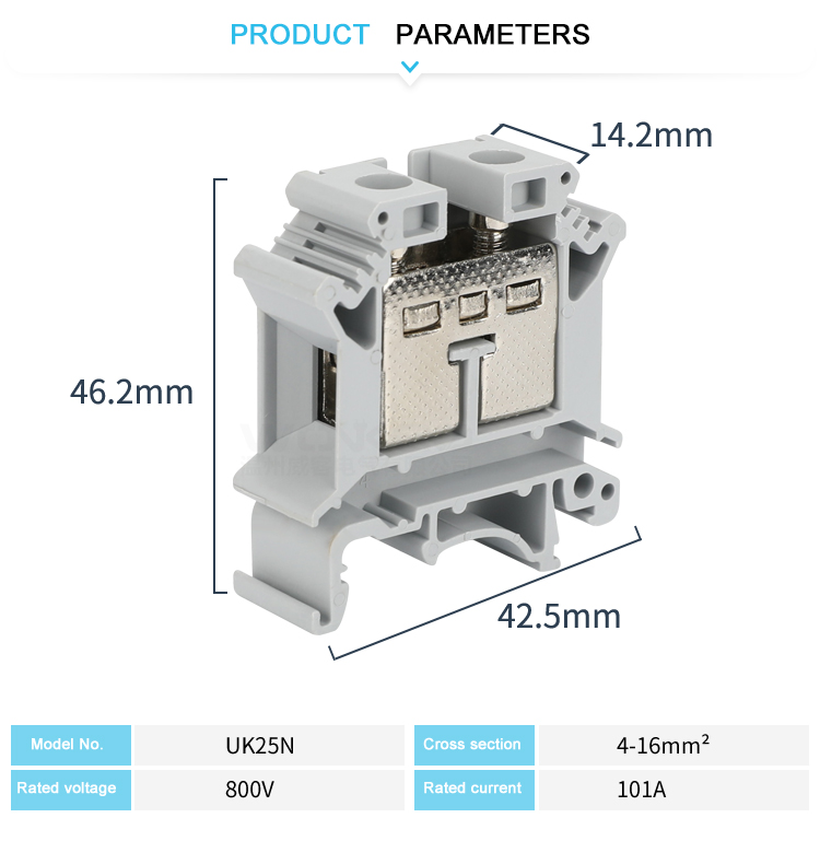 din rail electrical connectors