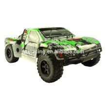 VRx Racing взрыва щеткой SC грузовик, зеленый, 1/10 масштаба