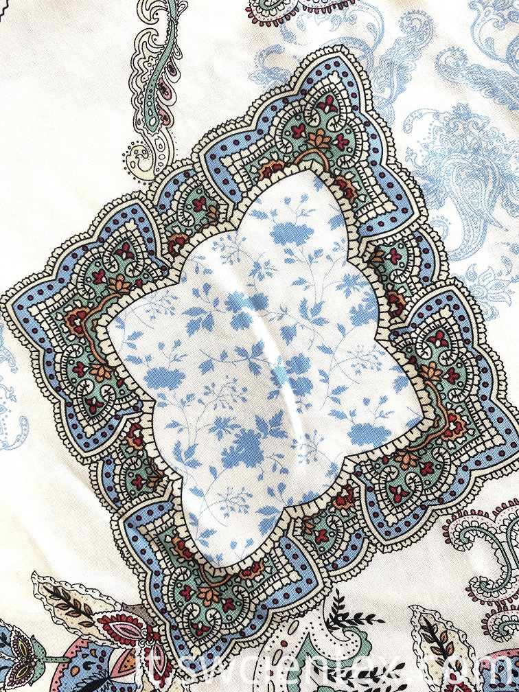 Print Rayon Fabric for Women Blouses