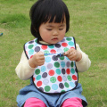 Washable neoprene waterproof toddler bibs for feeding