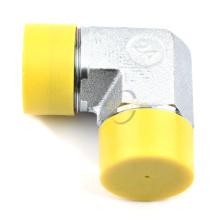 ELBOW JIC MALE à 90 degrés 74 degrés CONE NPT Adaptateur hydraulique pour raccord de tuyau