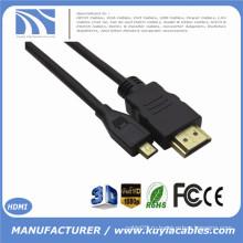 BRANDNEW 1.4V Micro HDMI Мужской К Мужской кабель 1ft 3ft 5ft 6ft 8ft 10ft для 4G HTC SPRINT EVO Портативная камера