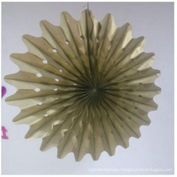 Fabricante de papel de aluminio artesanías de papel para la decoración del hogar