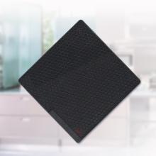 Alfombrilla cuadrada de silicona con forma de panal