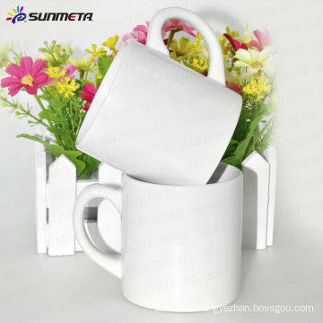Hot sale wholesale 6oz ceramic white mug for sublimation price