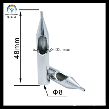 8*48mm, 1r, 304 Stainless Steel Tattoo Tips Tp-Ss1r-01