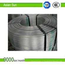Катанка из алюминия высокого качества класса Ec 9,5 мм