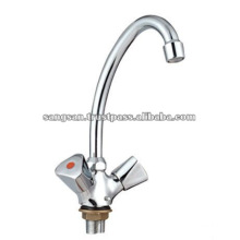 Double Handle Basin Mixer
