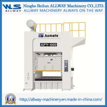 Machine de pressage à économie d'énergie à rendement élevé de 600 tonnes (APY-600)