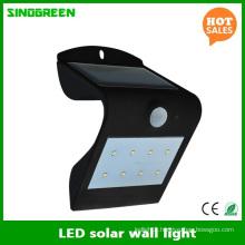 LED Solar Wall Lamp Smart Solar & Sensor LED Wall Light RoHS Ce