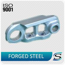 El excavador de la certificación ISO9001 parte la cadena de pista para el ensamblaje de enlace de vía