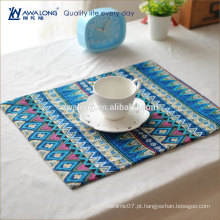 Bohemia estilo de algodão China Morden design mesa mat placa para atacado