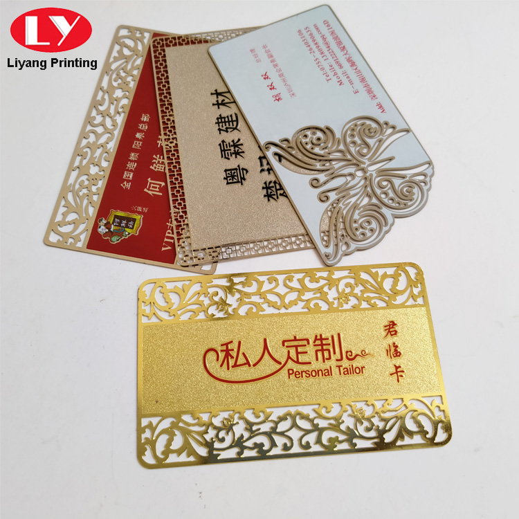 Metal Business Card Printing