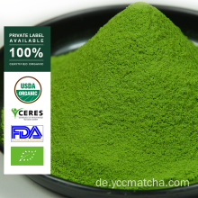 Private Label OEM Bio Matcha Grüntee Pulver
