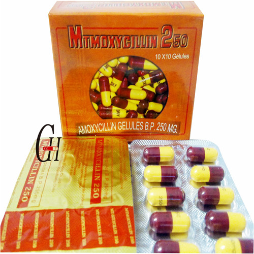 Ampicillin Capsule 250 Mg