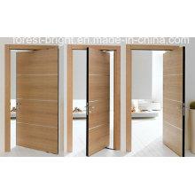 Fancy Interior Veneer Wooden Flush Door System