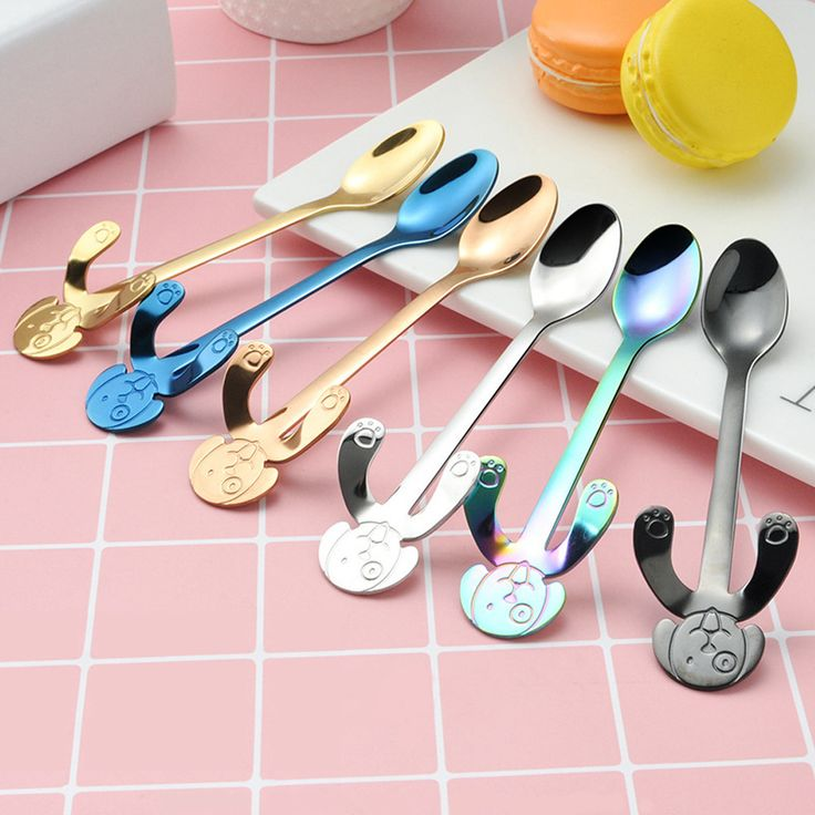 Cute Colorful dog Spoon