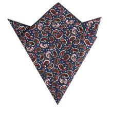 Männer 100% Baumwolle Großhandel Maschine Rolled Custom Printed Taschentücher