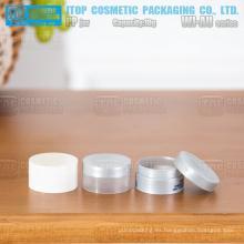 WJ-AU10 10g caliente-venta promocional mini y solo lindo ensayo muestras de la capa o hacen productos 10g frasco de pp