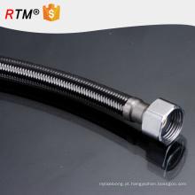 B17 mangueira de borracha de aço Inoxidável mangueira trançada de fio de metal flexível