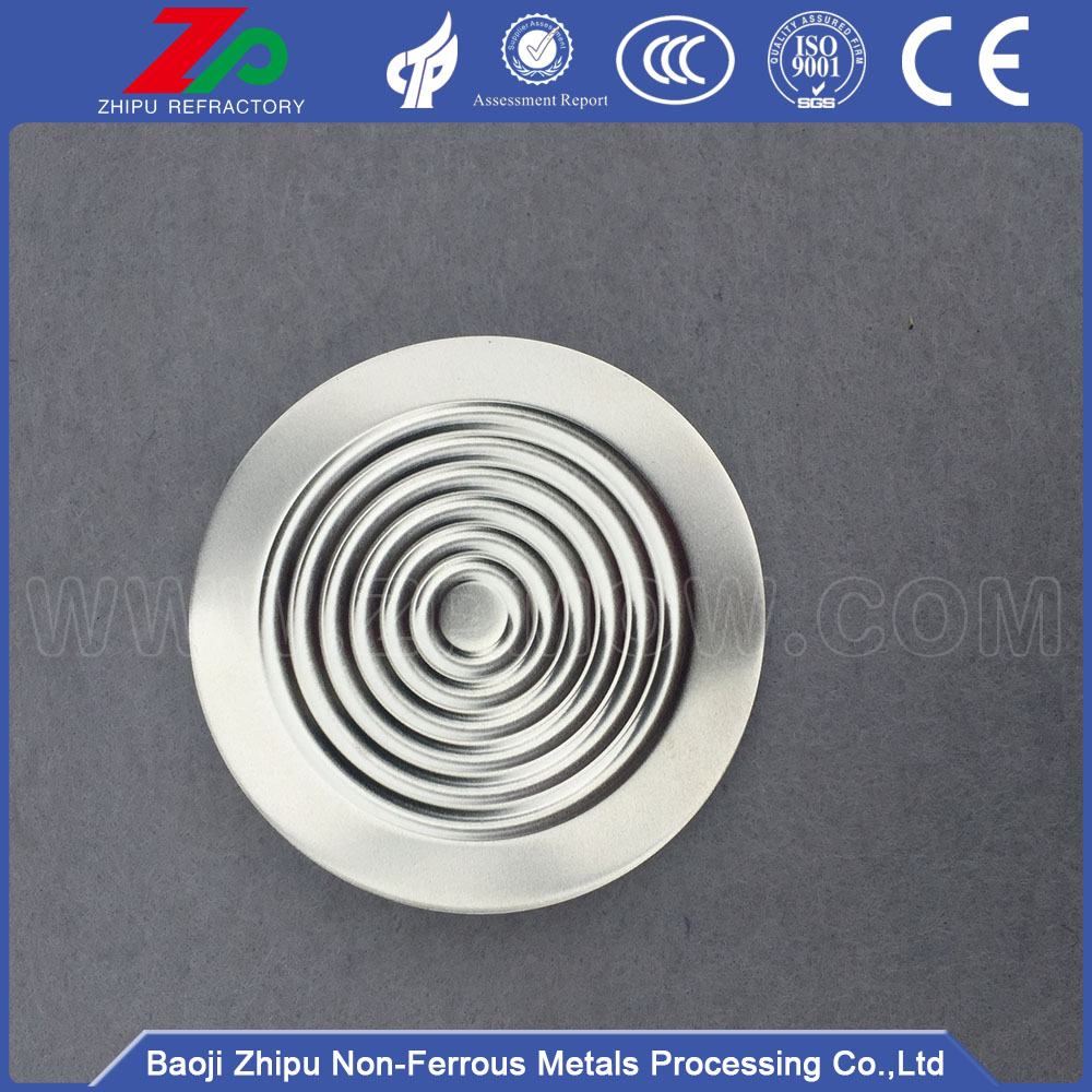 99.95% high purity tantalum diaphragm